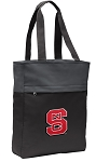 NC State Tote Bag Everyday Carryall Black