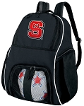 NC State Soccer Backpack or NC State Wolfpack Volleyball Bag For Boys or Girls