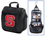 NC State Toiletry Bag or NC State Wolfpack Shaving Kit Travel Organizer for Men