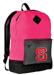 NC State Wolfpack Backpack HI VISIBILITY NC State CLASSIC STYLE For Her Girls Women