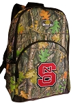 NC State Backpack REAL CAMO DESIGN