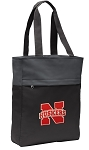 University of Nebraska Tote Bag Everyday Carryall Black