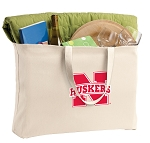 University of Nebraska Jumbo Tote Bag