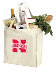 Nebraska Huskers Shopping Bags Canvas