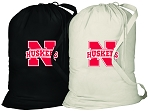 University of Nebraska Laundry Bags 2 Pc Set