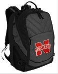 University of Nebraska Deluxe Laptop Backpack Black
