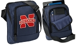 Nebraska Tablet or Ipad Shoulder Bag Navy
