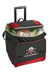 Nebraska Blackshirts Rolling Cooler Bag Red