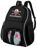University of Nebraska Blackshirts Soccer Backpack or Nebraska Blackshirts Volleyball Bag For Boys or Girls