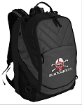 Nebraska Blackshirts Deluxe Laptop Backpack Black