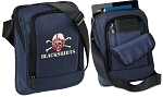 Nebraska Blackshirts Tablet or Ipad Shoulder Bag Navy