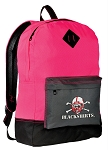 Nebraska Blackshirts Backpack HI VISIBILITY University of Nebraska Blackshirts CLASSIC STYLE For Her Girls Women