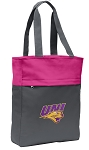 Northern Iowa Tote Bag Everyday Carryall Pink