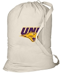 Northern Iowa Laundry Bag Natural