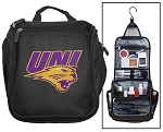 University of Northern Iowa Toiletry Bag or UNI Panthers Shaving Kit Travel Organizer for Men