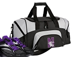 Small Northwestern University Gym Bag or Small Northwestern Wildcats Duffel