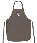 Official Northwestern Logo Apron Tan