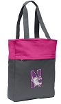 Northwestern University Tote Bag Everyday Carryall Pink