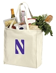 Northwestern Wildcats Shopping Bags Canvas