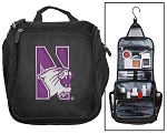 Northwestern University Toiletry Bag or Northwestern Wildcats Shaving Kit Travel Organizer for Men