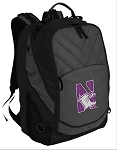 Northwestern University Deluxe Laptop Backpack Black