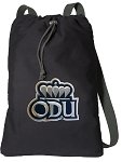 ODU Monarchs Cotton Drawstring Bag Backpacks