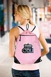 ODU Monarchs Drawstring Bag Mesh and Microfiber Pink