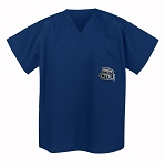 Old Dominion University ODU Scrubs Top Shirt-