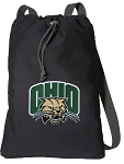 Ohio Bobcats Cotton Drawstring Bag Backpacks