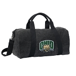 Ohio University Bobcats Duffel RICH COTTON Washed Finish Black