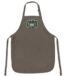 Official Ohio Bobcats Logo Apron Tan