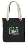 Ohio Bobcats Tote Bag RICH COTTON CANVAS Black