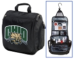 Ohio University Toiletry Bag or Ohio Bobcats Shaving Kit Travel Organizer for Men