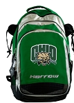 Ohio Bobcats Harrow Field Hockey Lacrosse Backpack Bag Green