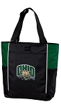 Ohio Bobcats Tote Bag Hunter Green