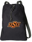 Oklahoma State Cotton Drawstring Bag Backpacks