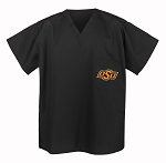 Oklahoma State University Cowboys Scrubs Top Shirt-