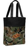 Oklahoma State Cowboys Tote Bag Everyday Carryall Camo