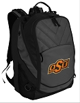 Oklahoma State Deluxe Laptop Backpack Black