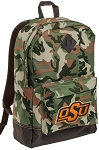 Oklahoma State Camo Backpack
