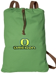 University of Oregon Cotton Drawstring Bag Backpacks Cool Green