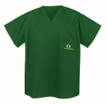 University of Oregon Scrubs Top Shirt-