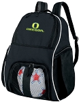 University of Oregon Soccer Backpack or UO Volleyball Bag For Boys or Girls