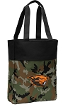 Oregon State Beavers Tote Bag Everyday Carryall Camo