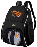 Oregon State University Ball Backpack Bag