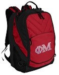 Phi Mu Sorority Laptop Computer Backpack
