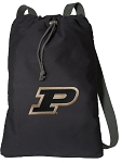 Purdue University Cotton Drawstring Bag Backpacks