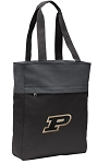 Purdue University Tote Bag Everyday Carryall Black