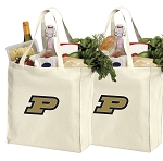 Purdue University Shopping Bags Purdue Grocery Bags 2 PC SET