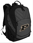 Purdue University Deluxe Laptop Backpack Black